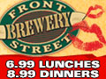 Front Street Brewery Wilmington Restaurants